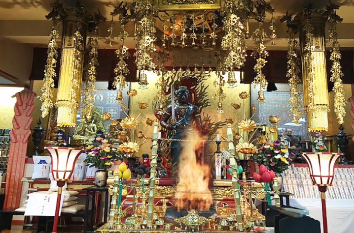 札幌市北区のお寺、吉祥院の本堂
