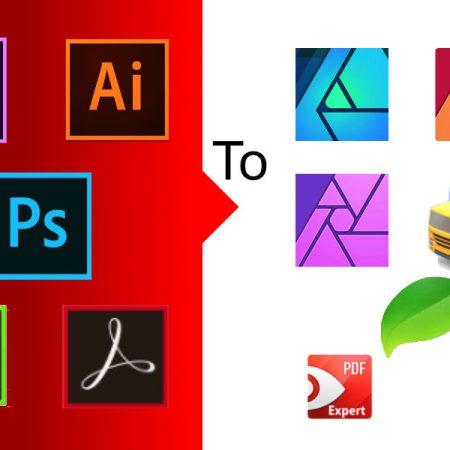 Adobeを卒業します